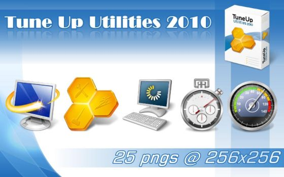 TuneUp Utilities 2010 icons by DJMattRicks