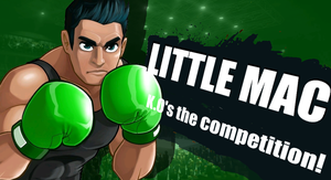Little mac joins the fight! by Kyon000