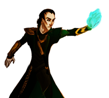 Suddenly... Loki by arthorde