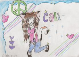 Pretty pose :colored: by cali-cat