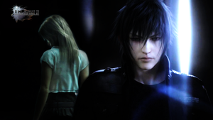 Noctis and Stella Wallpaper by SaSuRaLoVe
