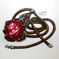 Ink-Draw 15: Amulet by kristinbowles
