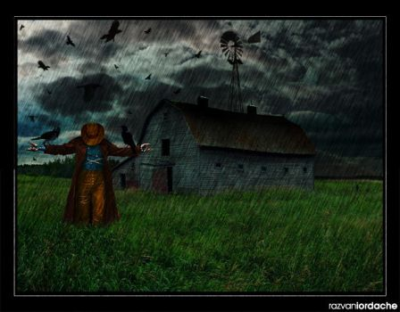 The scarecrow by skateidl