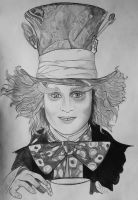The Mad Hatter by Galaad-Phantom