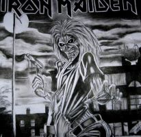 eddie-iron maiden by shinedownster