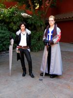 Squall and Seifer 2 by InnocentWsh