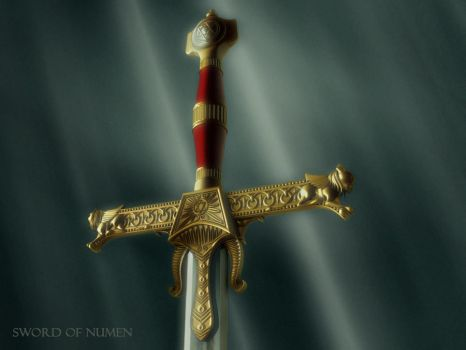 The Sword of Numen by Icemera