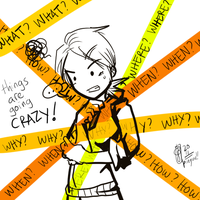 things are goin crazy x_x by pin9yuu