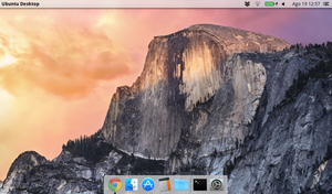 Yosemite Dock for Cairo Dock by DGK15