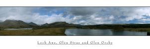 a view from kilchurn castle by Project-Firefly
