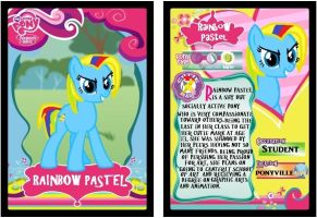 Rainbow Pastel Trading Card by Rainbow-Pastel