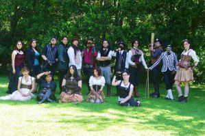 II Steampunk Meeting, Region del Biobio by SteampunkChile