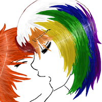 [RANBOW KISS] Redraw by cryingrainbowplz