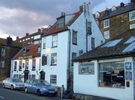 Middle Earth Tavern Whitby harbour by Sceptre63