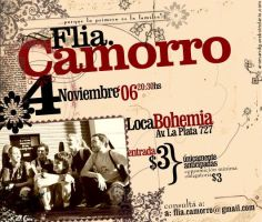 Flia.Camorro:::Flyer by ale64