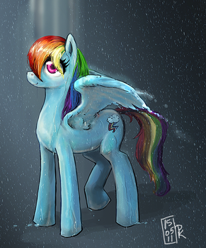 Rainbow Dash  Eye of the Storm by 9ofcups
