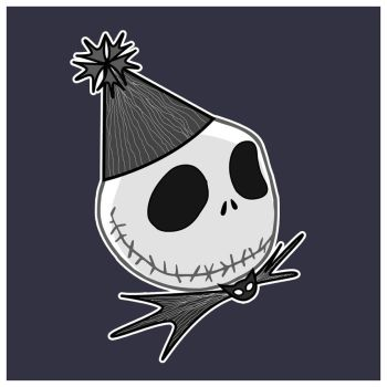 the pumpkin king bday card by piratewench831