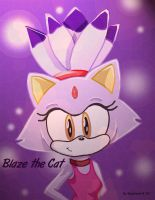 Blaze the Cat by nickgurlpa