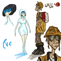 eve ppl, wall-e ppl by dobie