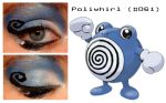 Pokemakeup 061 Poliwhirl by nazzara
