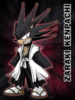 Kenpachi in Sonic Style by kyuyoukai