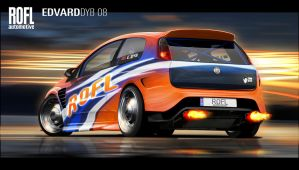 Fiat Punto ROFL Automotive by dr-phoenix