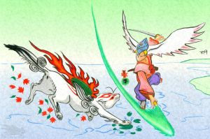 Okami - Let's Rock, Baby by Stratadrake