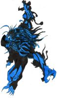 beast symbiote by hulkling