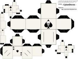 Cubee - Ace of Spades by CyberDrone