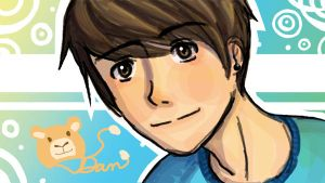 Danisnotonfire doodle by GothicShoujo