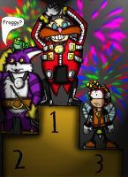 Robotnik the winner by Luke-the-F0x
