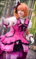 Honoka Kousaka - KiRa-KiRa Sensation! by SharyNyanko
