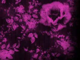 Floral_Serenity_Hot_Pink by SinCityGirl73