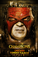 Night of Champions Promotional Kane by fraH2014