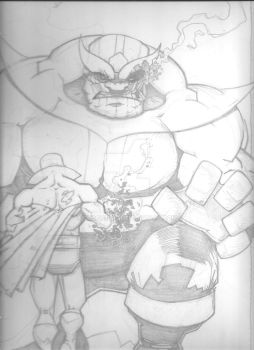 Drax and Thanos 001 by Spoon1004