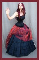 Red And Black 5 by Lisajen-stock