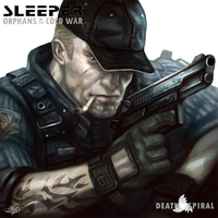 SLEEPER-Orphans of the Cold War-Security Guard#1 by mlappas
