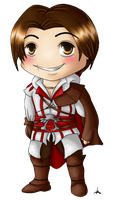 Chibi Ezio by MissMinority