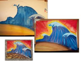 Crazy Waves progression by emceelokey