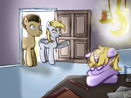Little Dinky Whooves by PonellaToon