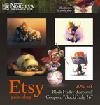 Etsy -20% Black Friday SALE by Nordeva