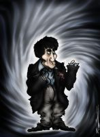 The Second Doctor: Patrick Troughton by ApocalypseCartoons