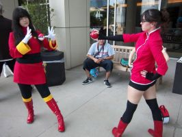AFest '11 - Sabrina+AceTrainer by TEi-Has-Pants