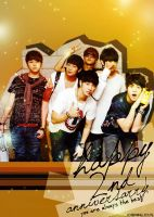 HAPPY 2ND ANNIVERSARY B2ST by josephine12cute