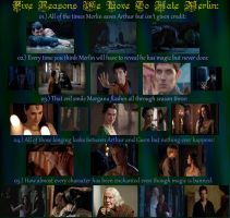 5 Reasons We Love To Hate Merlin by VampObsessed