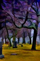 cemetery test 1 by lightzone