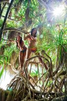 Lost in Jungle by MURIELFREEMIND