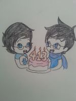 Babies birthday! by Thecowgoesmoo12