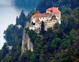 Bled castle, Slovenia 2 by wildplaces