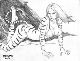 Tigra (#4) by Boy Lara by VMIFerrari